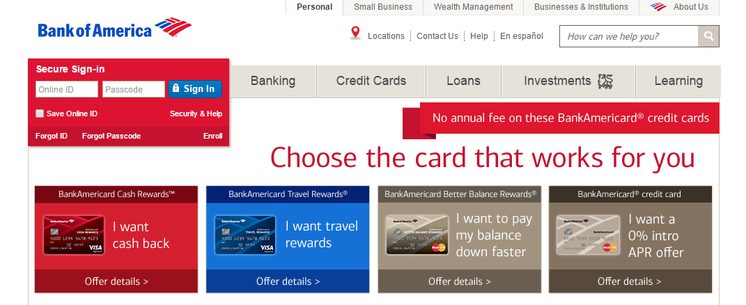 how to close bank of america account online