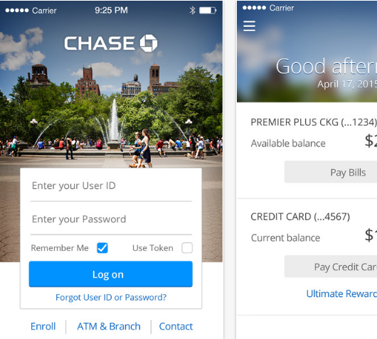 Chase Bank Mobile Banking