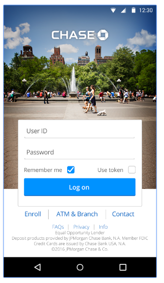 Chase Mobile Login