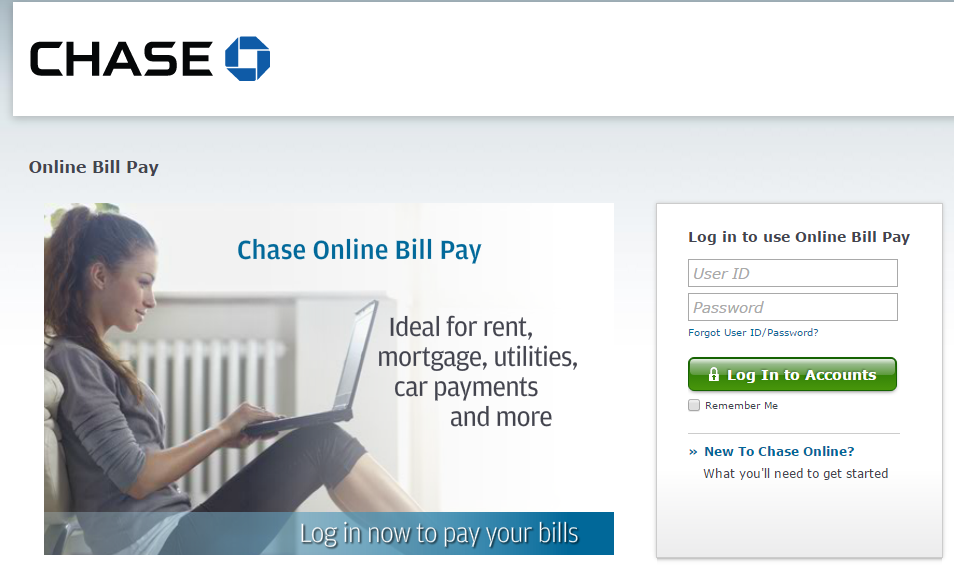 Chase bank log on page bing images Hause on line