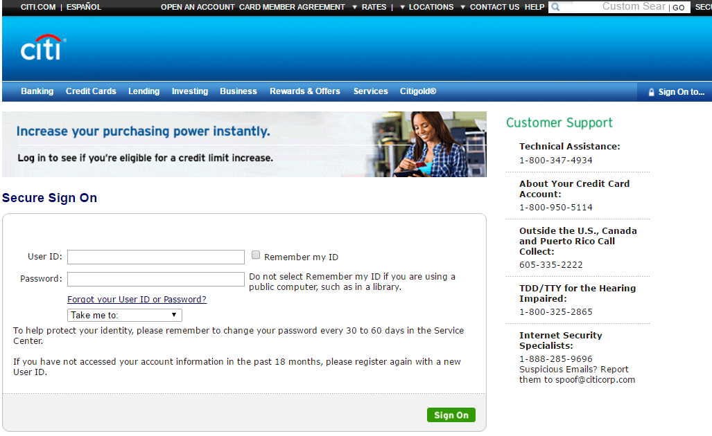 Citicards Online Login >> Citibank Credit Card Login |Pay Credit Card Bills | Login Helps.org