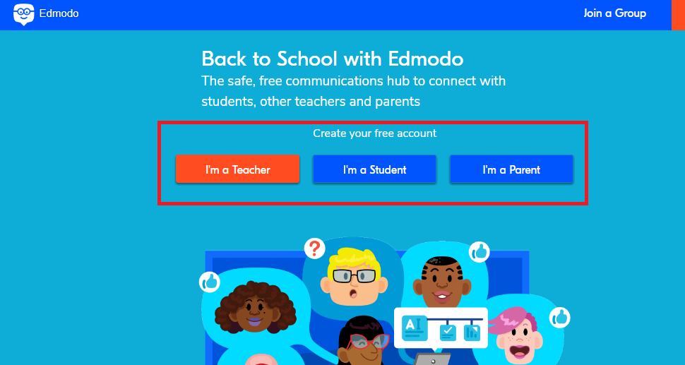 Edmodo Sign Up