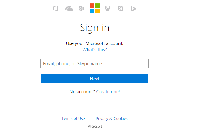MSN Hotmail Online Login