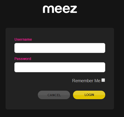 Meez.com Account Login