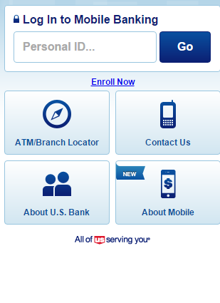 US Bank Mobile Login