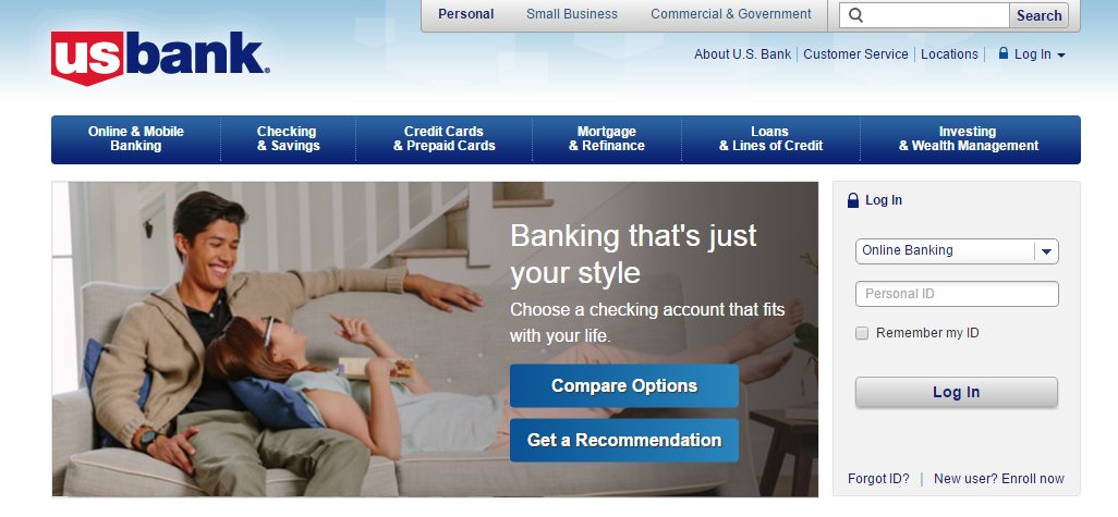 US Bank Online Banking Login
