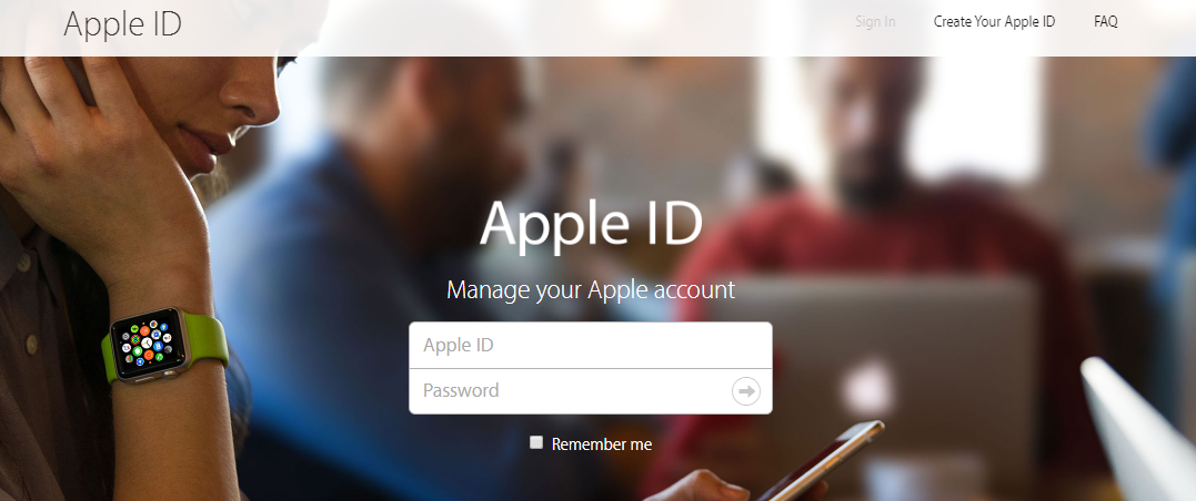 iTunes Store Account Login