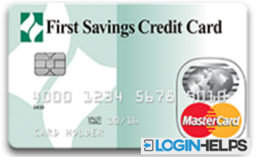 First Savings Credit Card Account Sign in
