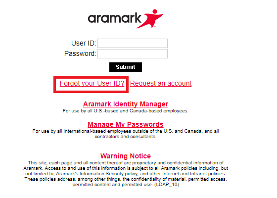 Aramark Webmail Sign in