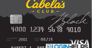 Cabelas Club Card Online Login