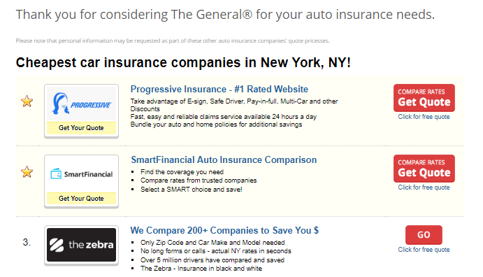 General Insurance Reviews