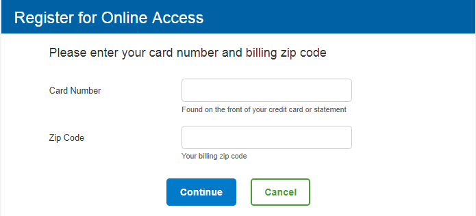 Sam's Club Credit Card Register