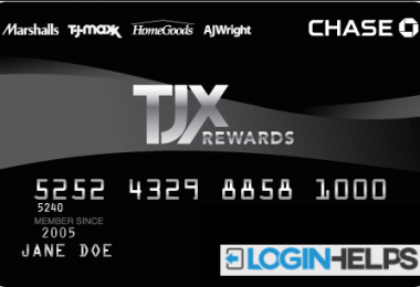 TJX Credit Card Sign in Help