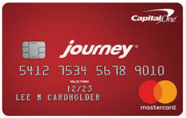 Journey Students Rewards Credit Card