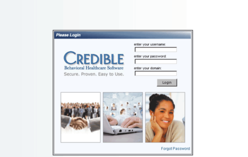 Credible BH Login
