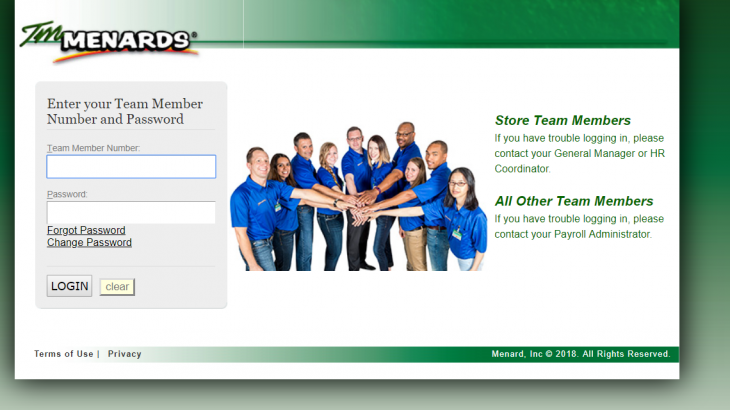 How to Login to your TM Menards Account