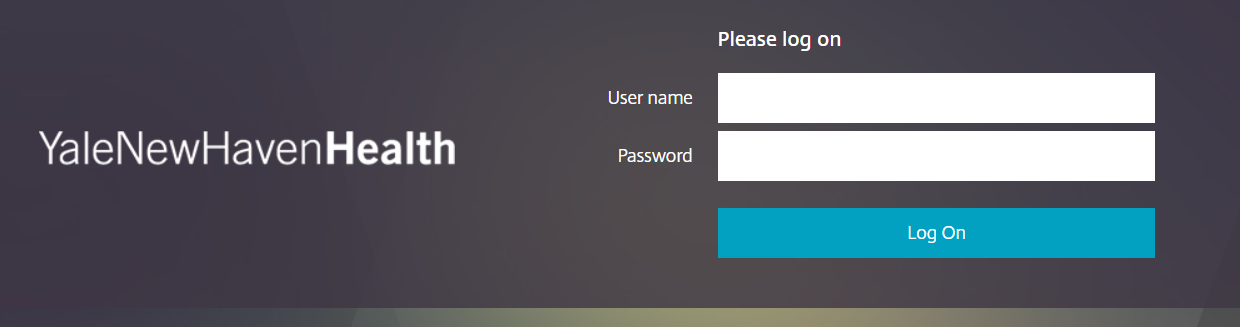 How to log into the Yale New Haven Hospital Employee Self Service Portal