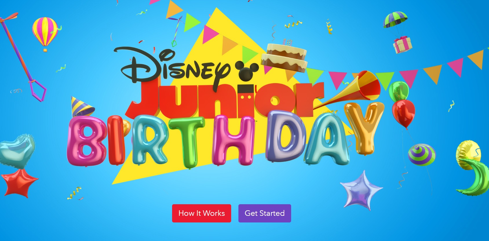 Add your Child's Photo on Disney Junior Birthday Book