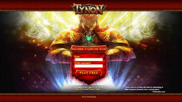 How to Log into Tynon