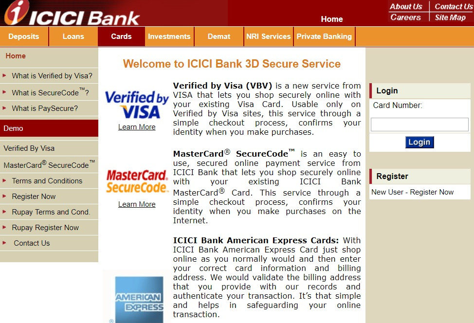 ICICI Credit Card Activation