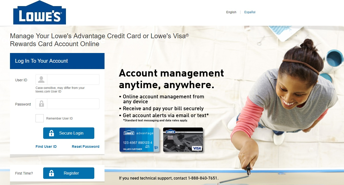 Lowe's Credit Card Activation