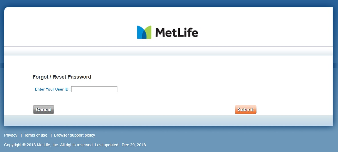 MetLife Insurance E Services Guide