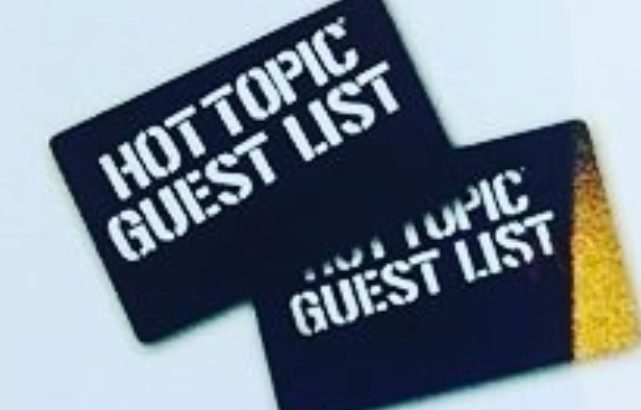 Hot Topic Credit Card Login