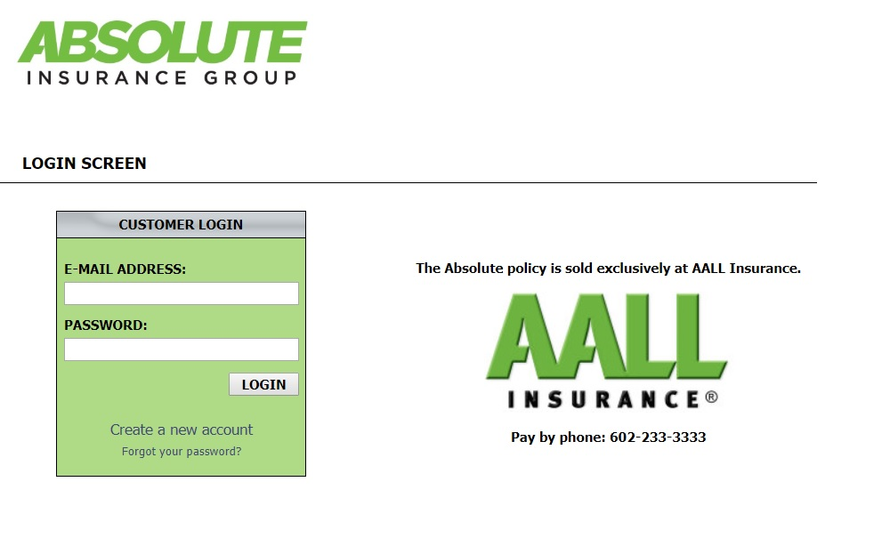 How to Log into AALL Insurance