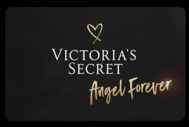 Victoria Secret Angel Card