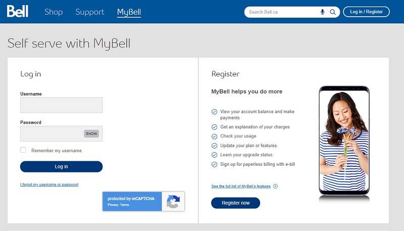 Bell Account Login