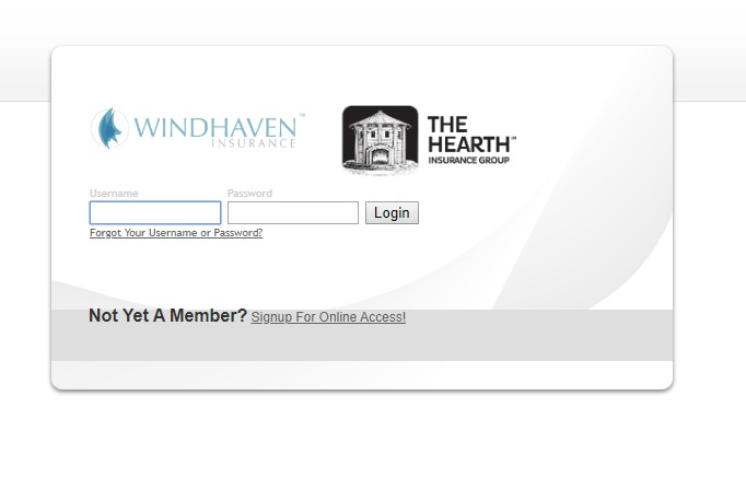 Windhaven Auto Insurance Login