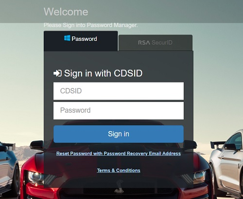 My Ford Pay Online Login
